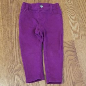 Girl's 12-18 Mos Purple Pants